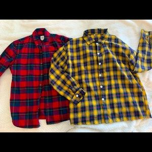 BUNDLE! Two flannels for $40 ❤️💥 Never worn!
